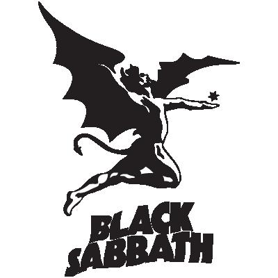 Black Sabbath logo vector free . - Black Sabbath 1986 Vector PNG - Black Sabbath 1986 Logo PNG