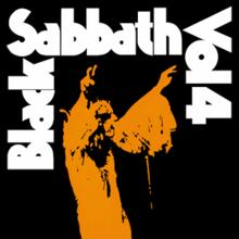 Black Sabbath Vol. 4.png - Black Sabbath 1986 Logo PNG