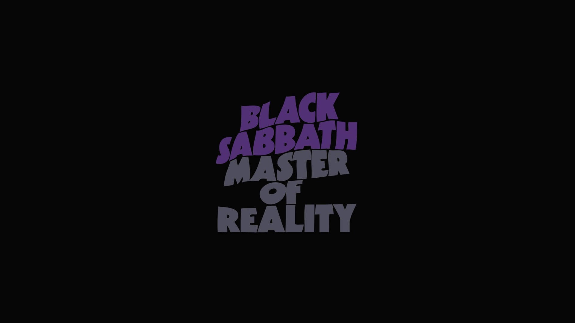 . PlusPng.com Black Sabbath Vol 4 Wallpaper For Desktop Master Of Reality Wallpaper  For Computer Background PlusPng.com  - Black Sabbath 1986 Logo PNG