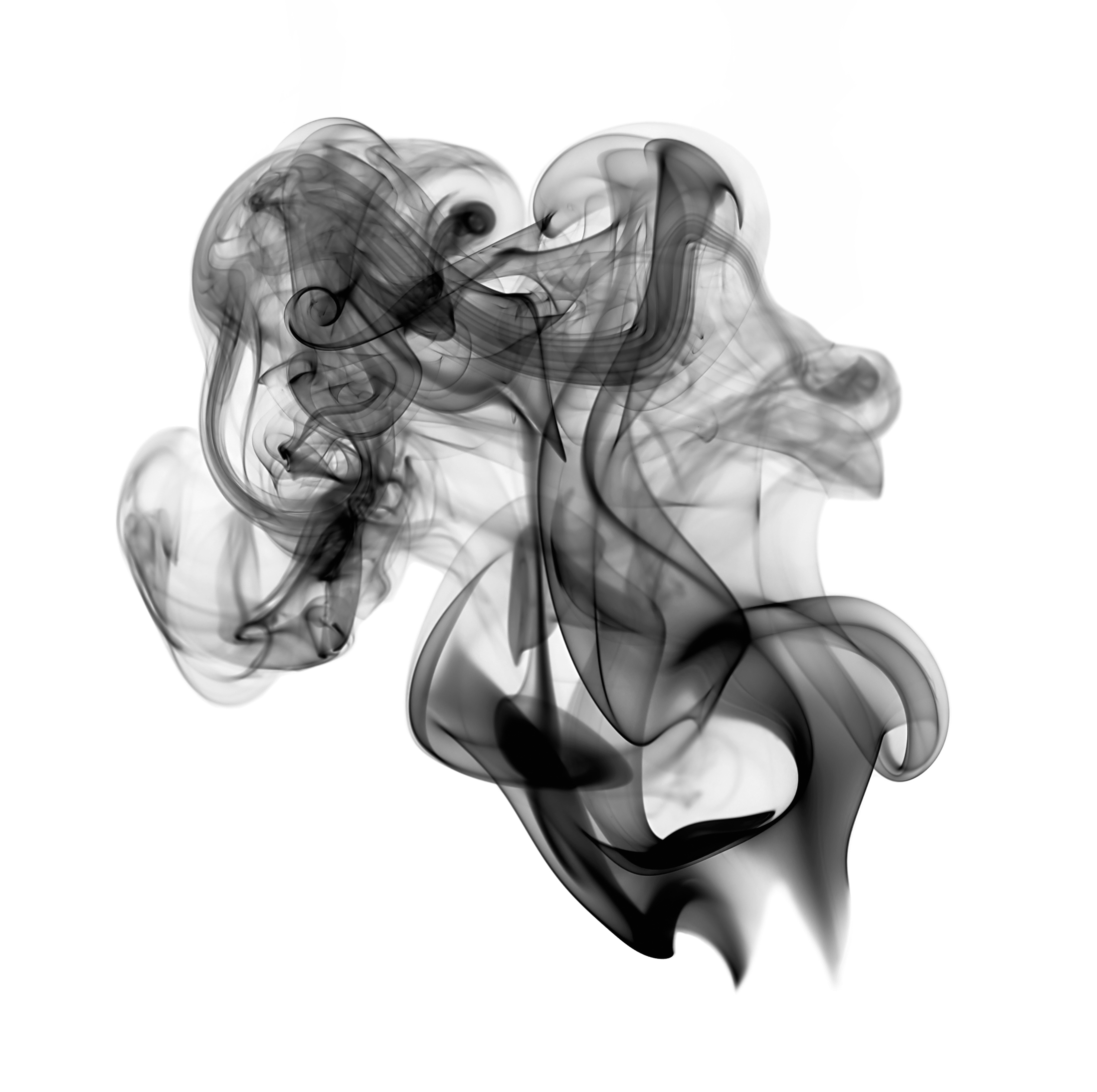 Black Smoke PNG Transparent Image - Smoke PNG