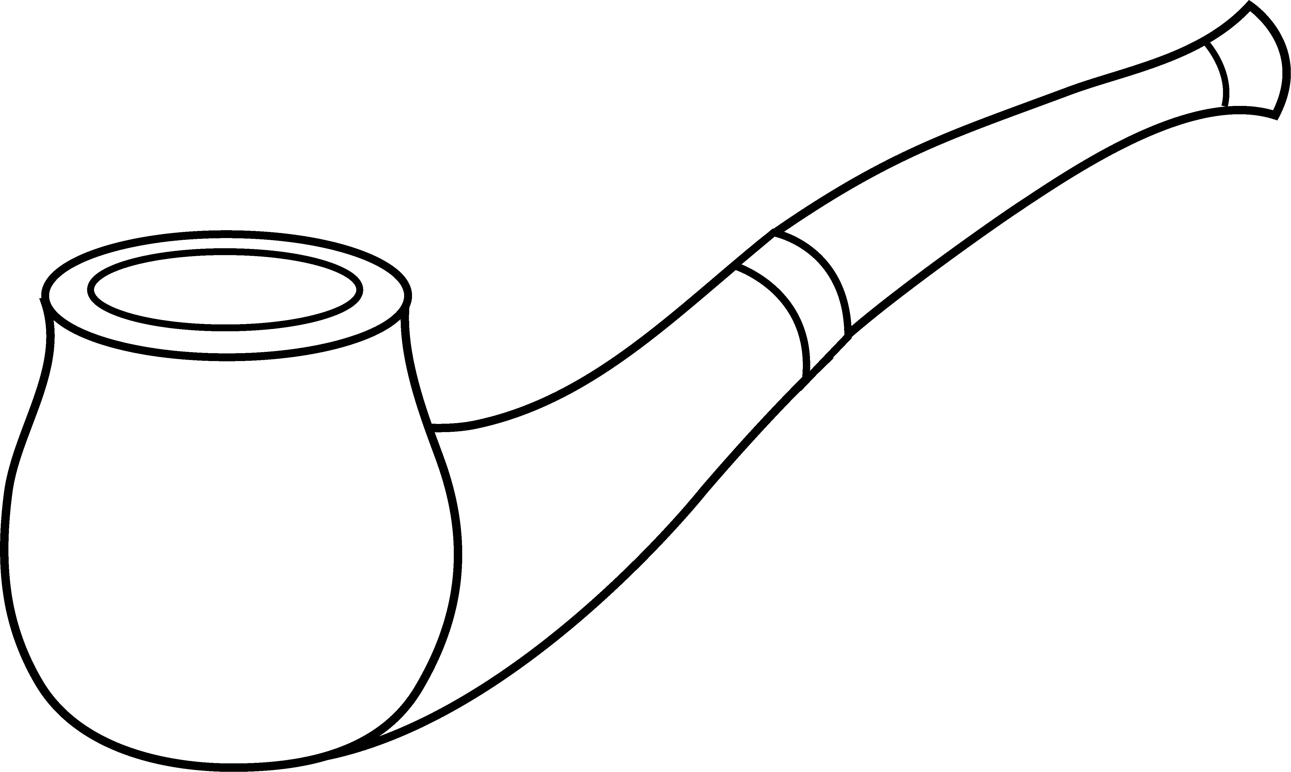 Black Tobacco Pipe PNG - 82653