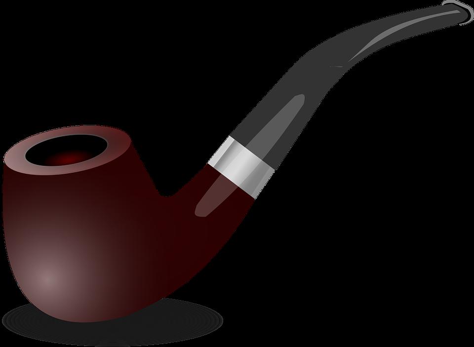 Black Tobacco Pipe PNG - 82656