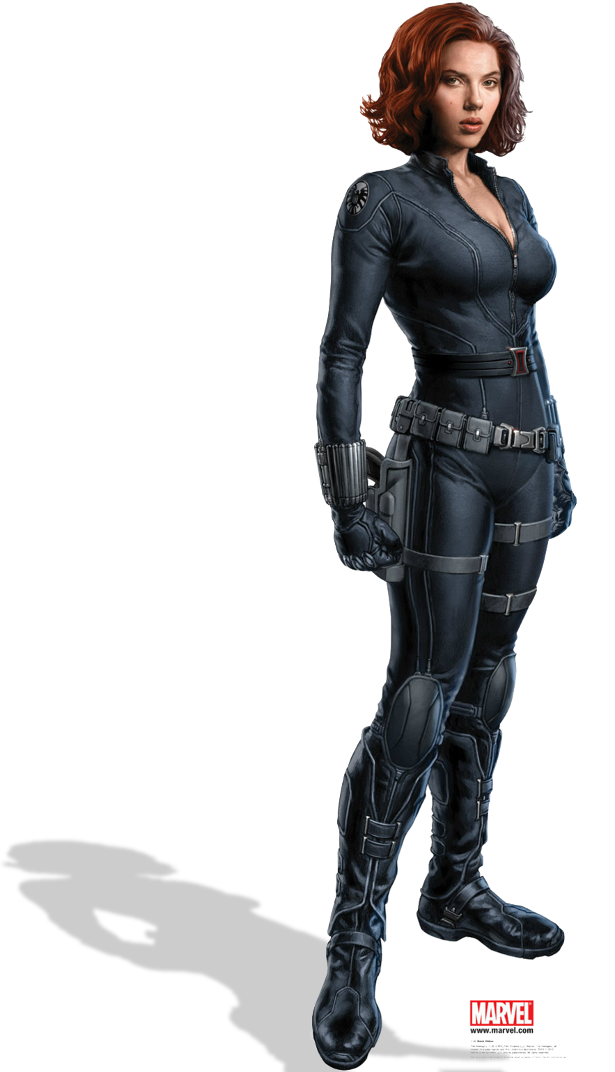 Civil War Black Widow Char ar
