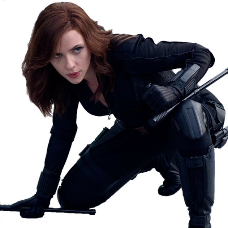 Black Widow PNG Render by MrVideo-VidMan - Black Widow PNG