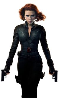black-widow-scarlett.png (200×333) - Black Widow PNG