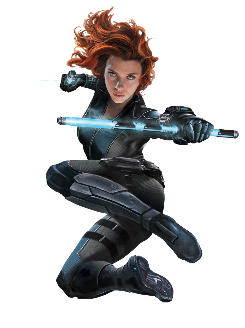 . PlusPng.com Captain America Civil War: Black Widow PNG 4 by sidewinder16 - Black Widow PNG