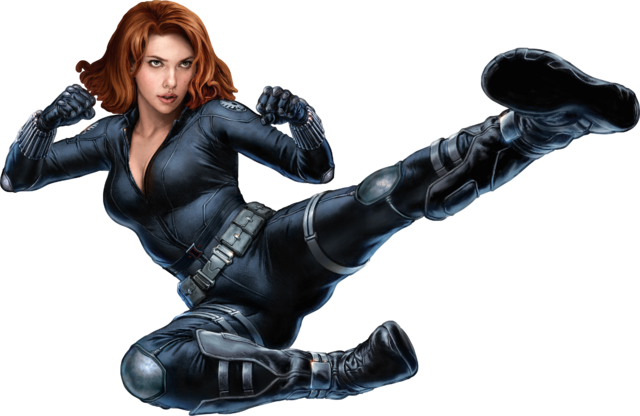 Black Widow PNG - 27826
