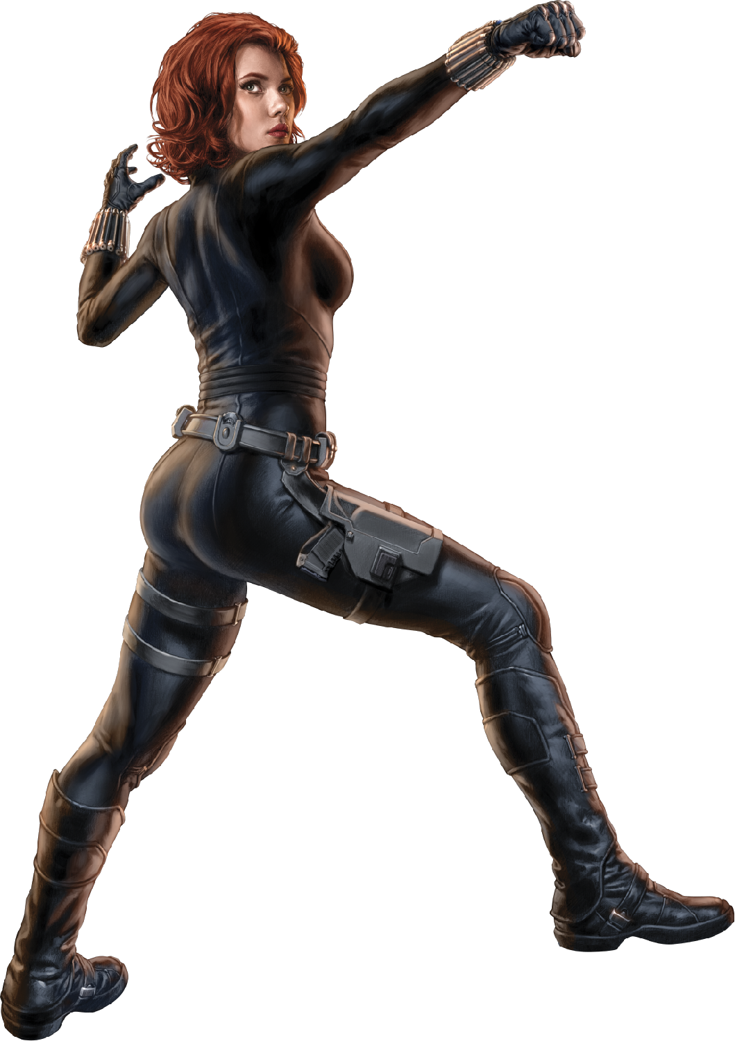 SJPA Black Widow 3.png - Black Widow PNG