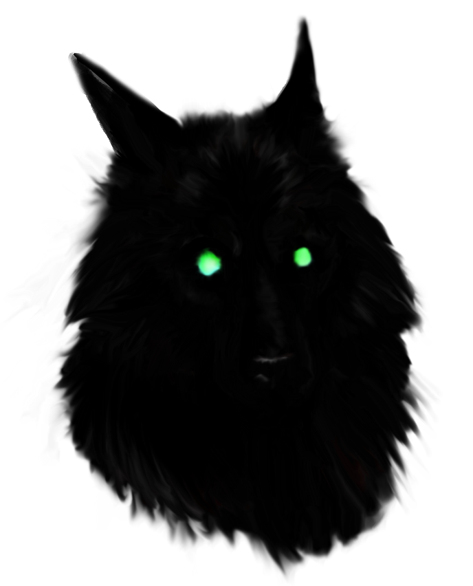 Black Wolf PNG - 163201