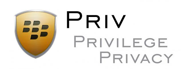 Blackberry Priv Logo PNG - 31030