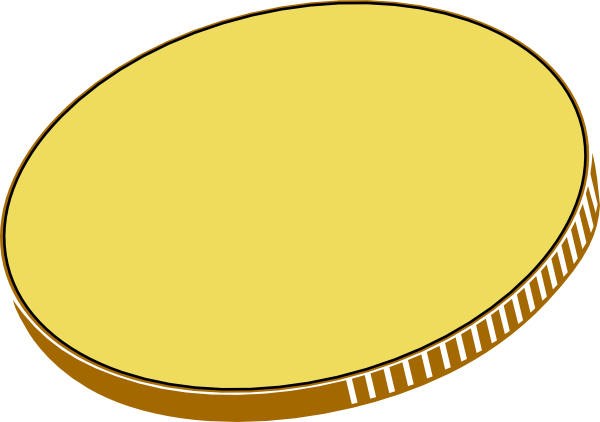 Blank Coin PNG - 152449