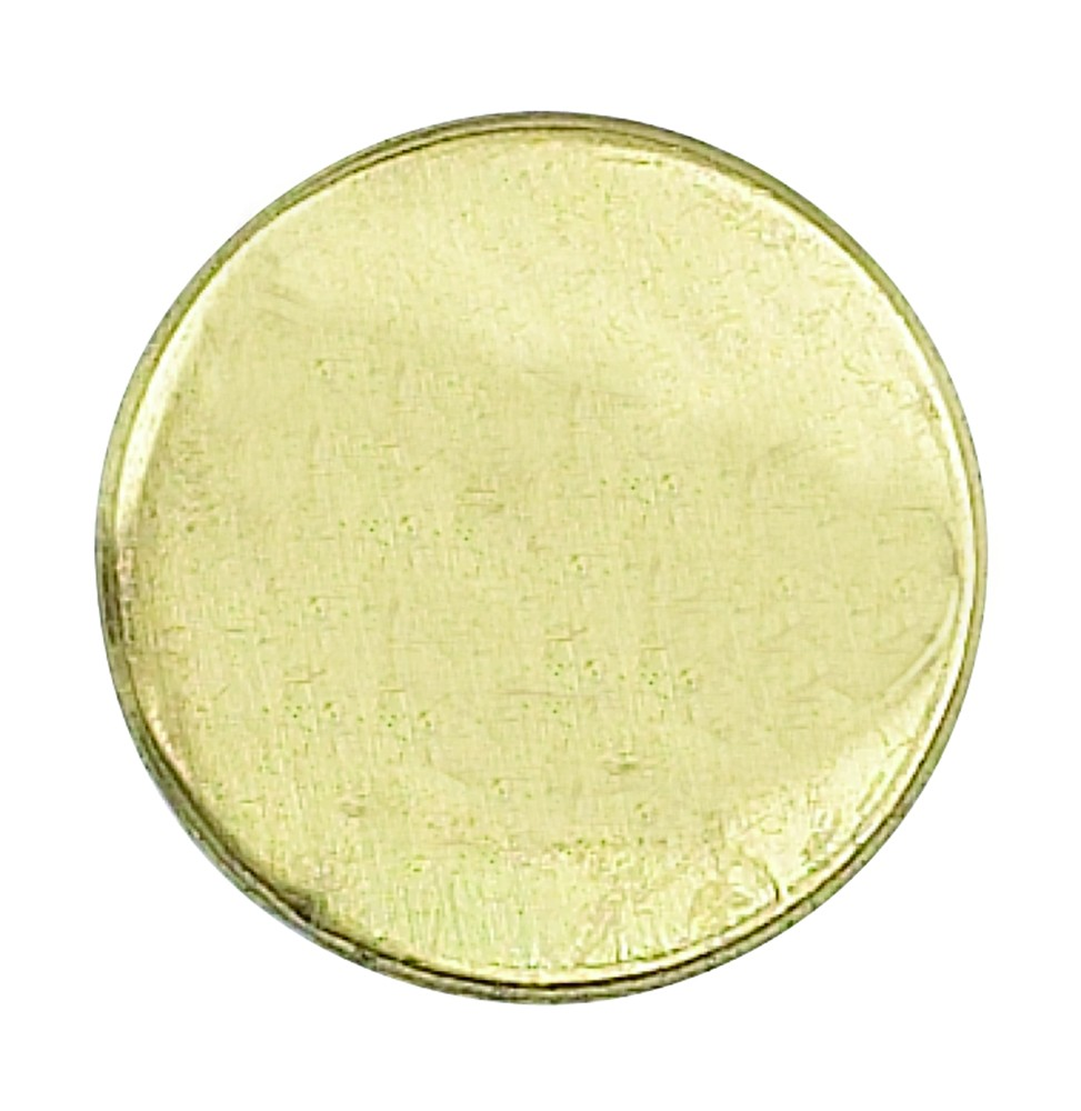 Blank Sealing Coin- For bespoke engraving - Blank Coin PNG