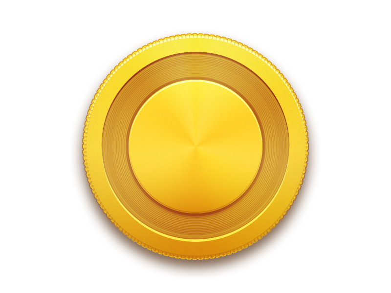 Blank Coin PNG - 152444