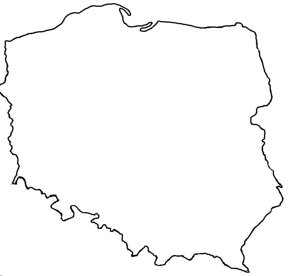 Blank map of Poland.png - Poland PNG