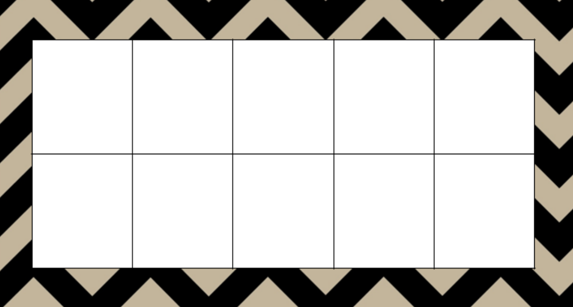 Blank Ten Frame PNG Transparent Blank Ten Frame.PNG Images. | PlusPNG