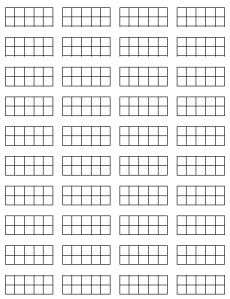 Earlier I Wrote About Using 10 Frames To Help Students Learn Basic Facts.  Using Those - Blank Ten Frame PNG