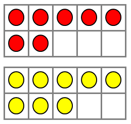 Rp_Doubles-on-Ten-Frames.PNG - Blank Ten Frame PNG
