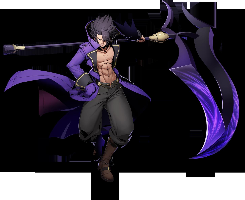 Gordeau the Harvester (BlazBlue Cross Tag Battle, Character Select Artwork). png - Blazblue PNG