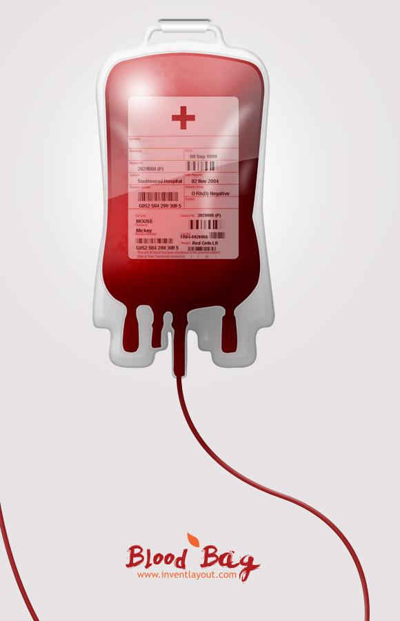 Blood Donation Bag PNG - 144773