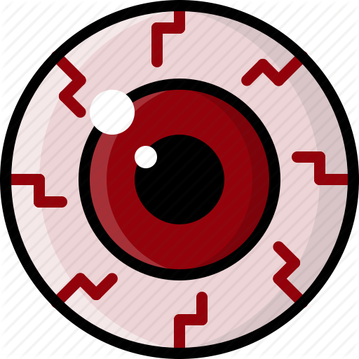 bloodshot, dry eyes, eye, health, monster, pink eye, vision icon - Bloodshot Eyes PNG