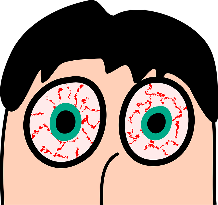 bloodshot eyes face sleeplessness tired - Bloodshot Eyes PNG