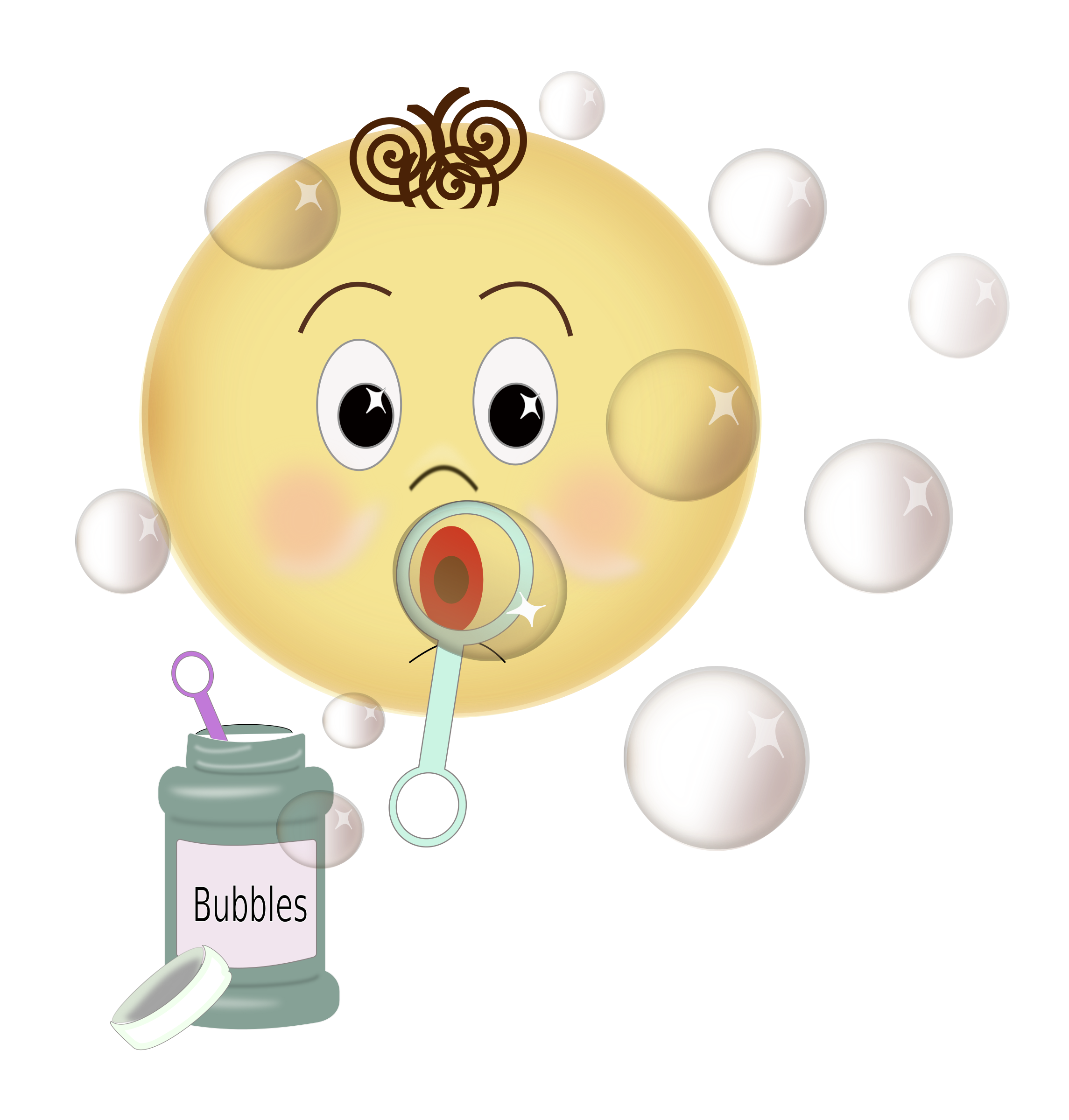 Blow Bubbles PNG - 158052