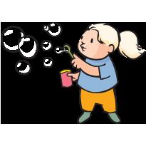 Blow Bubbles PNG - 158053