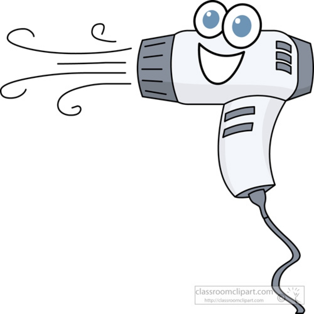 Blow Dryer And Scissors PNG - 66115