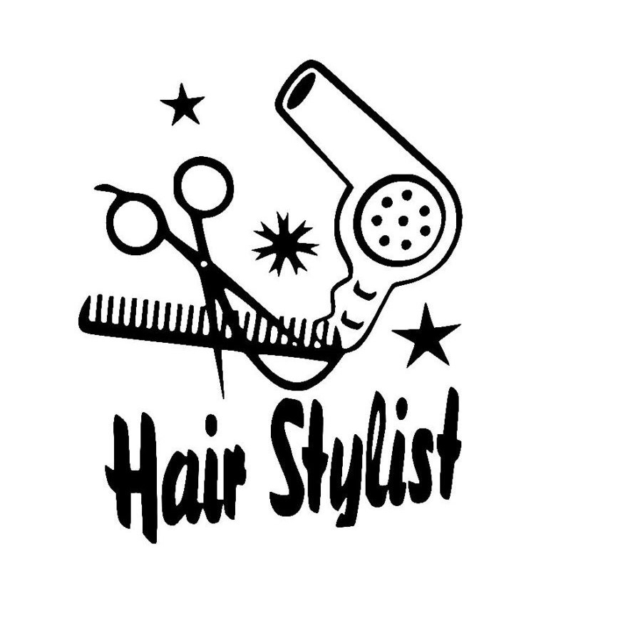 Blow Dryer And Scissors PNG - 66102