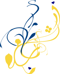 Blue And Gold PNG - 148388