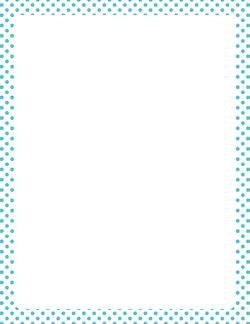 Blue Chevron Border PNG - 163994