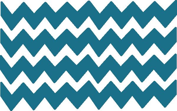 Blue Chevron Border PNG - 163999