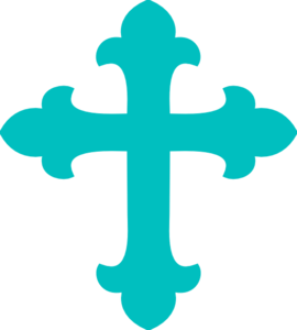Baby Blue Cross Clipart #1 - Blue Cross PNG