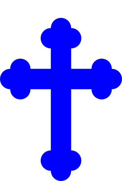 Blue Cross Clip Art at Clker pluspng.com - vector clip art online, royalty free u0026  public domain - Blue Cross PNG