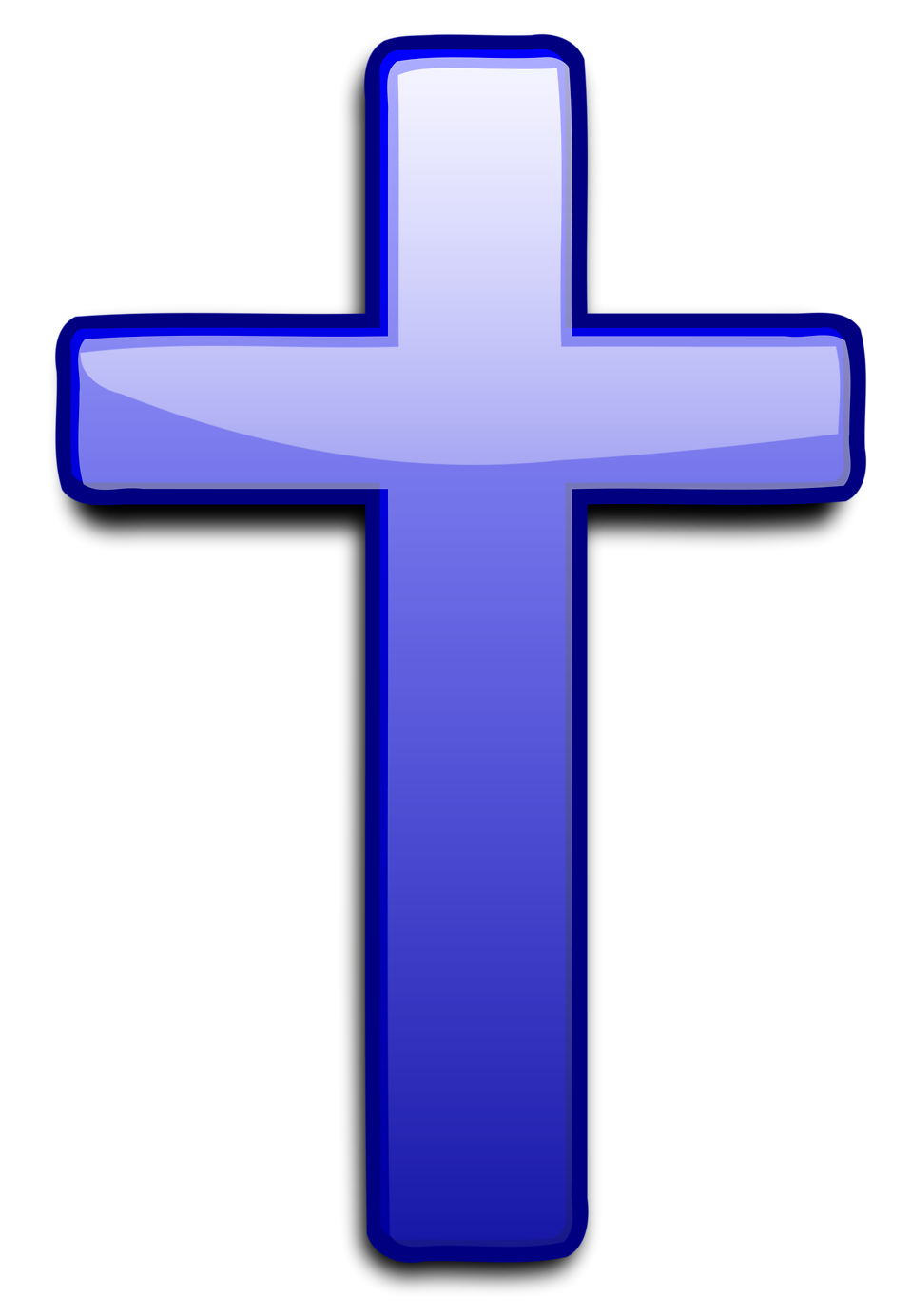 Cross - Blue Cross PNG