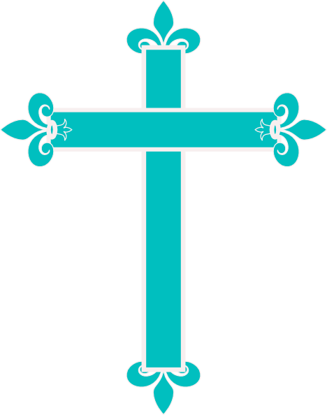 Download this image as: - Blue Cross PNG