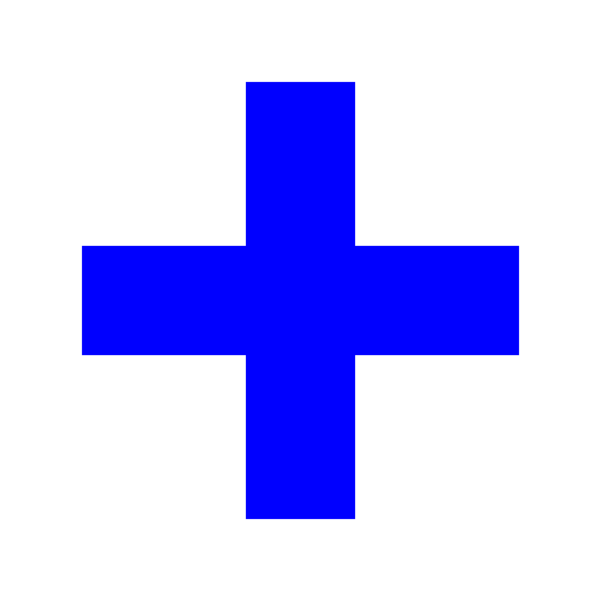 Open PlusPng.com  - Blue Cross PNG