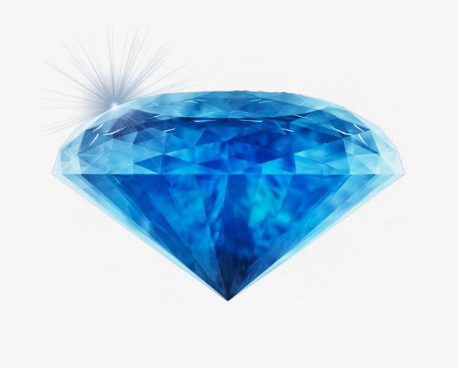 Blue Diamond Light, Diamond, Glowing, Light PNG Image and Clipart - Blue Diamond PNG HD