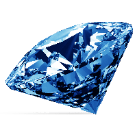 Blue Diamond Png Image PNG