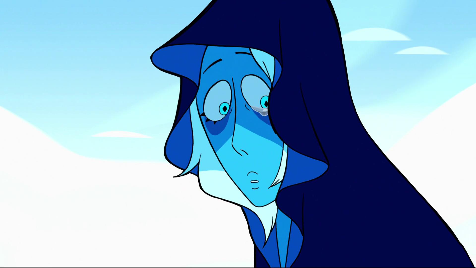 Blue Diamond show her face.png - Blue Diamond PNG HD