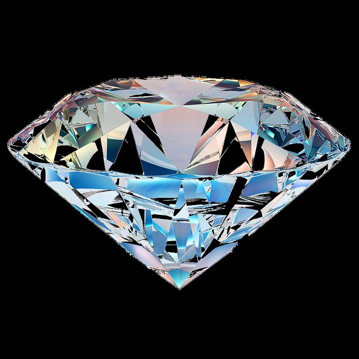 Diamond, Isolated, Transparent - Diamond HD PNG - Blue Diamond PNG HD