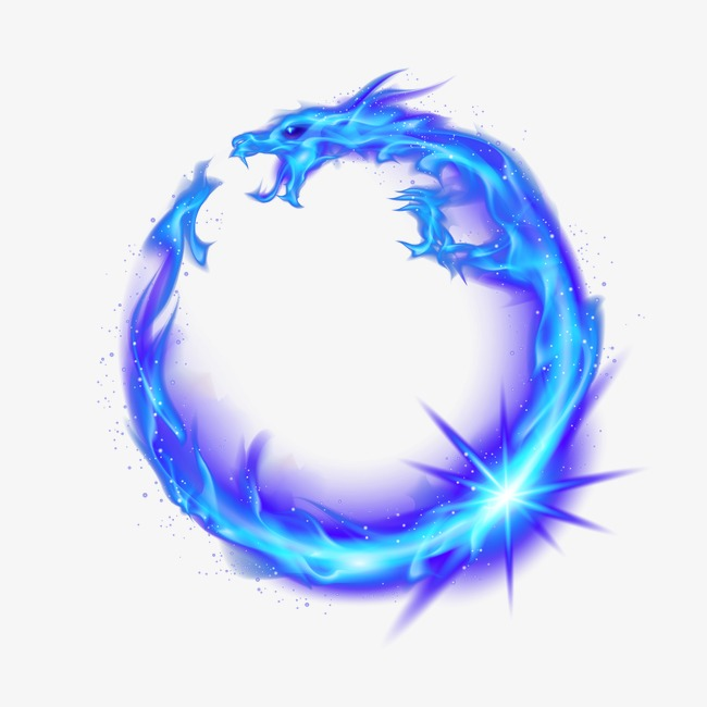 Blue Dragon, Flame, Flames, Fire PNG And PSD - Blue Flame PNG HD
