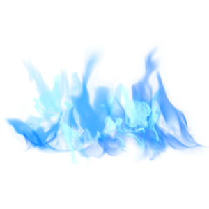 Blue Flame 7 - Blue Flame PNG HD