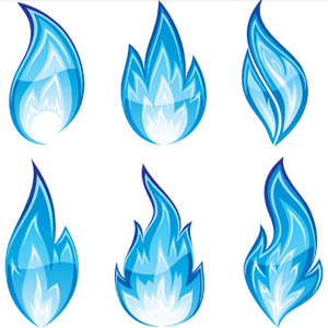 Flames Png - Blue Flame PNG HD
