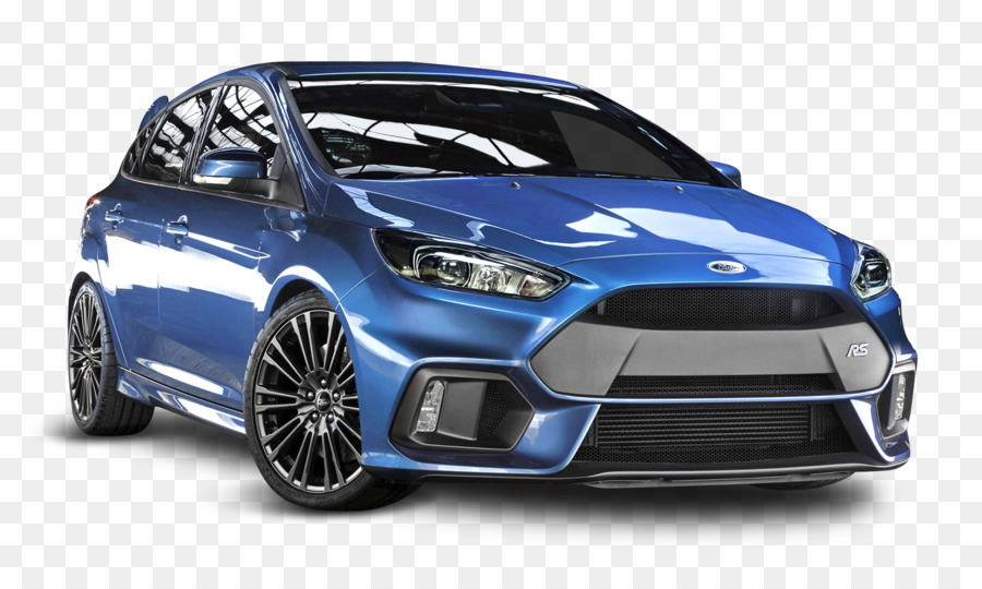 2016 Ford Focus RS Car 2017 Ford Focus RS - Blue Ford Focus RS Car - Blue Race Car PNG
