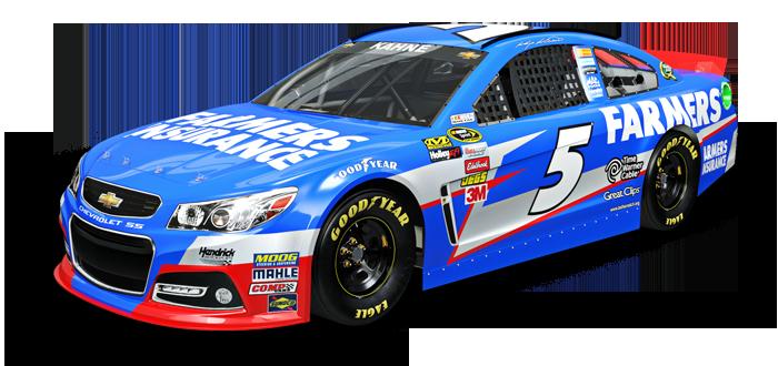 NASCAR PNG Images - Blue Race Car PNG
