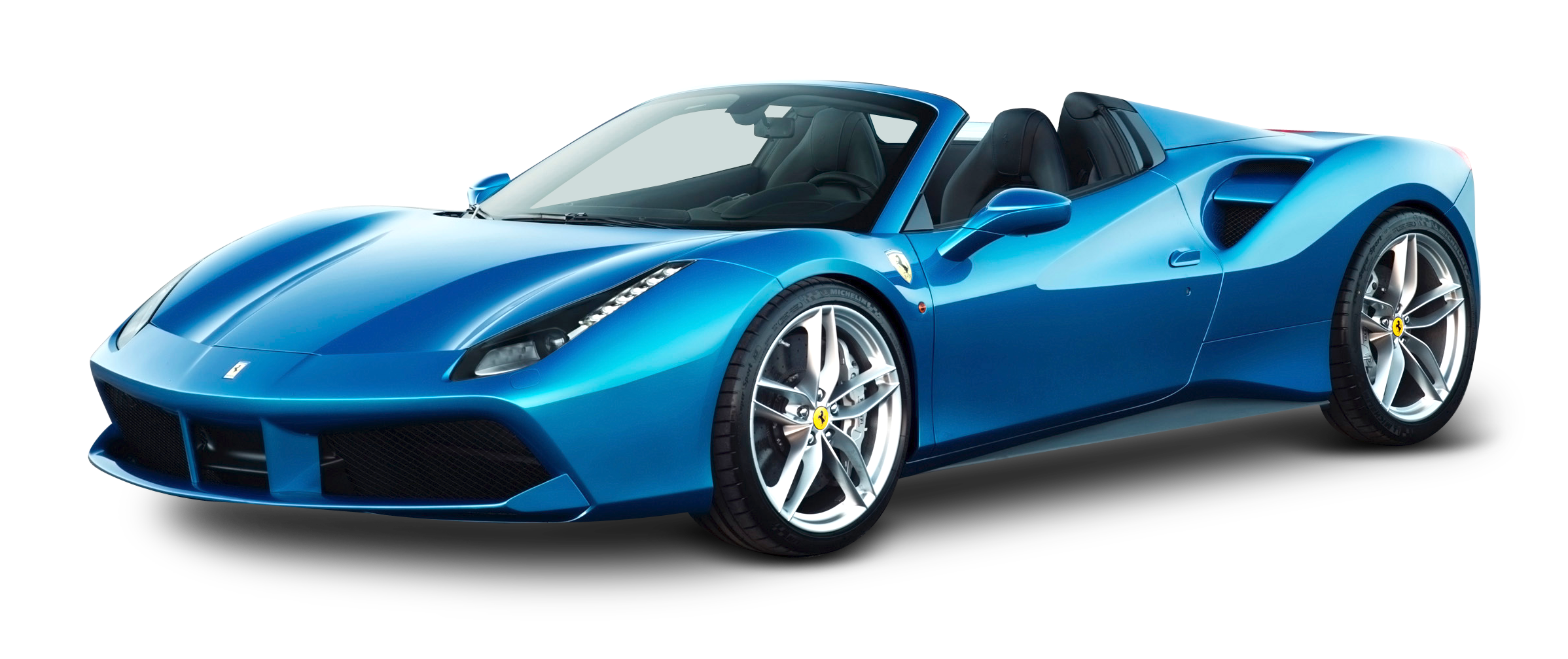 This high quality free PNG image without any background is about car,  ferrari, vehicle - Blue Race Car PNG