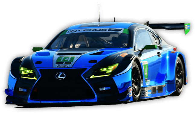 Upcoming Race - Blue Race Car PNG