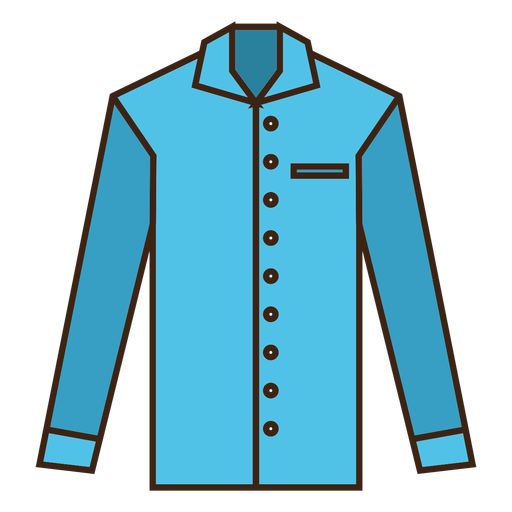 Blue stroke shirt clothes png - Clothes PNG
