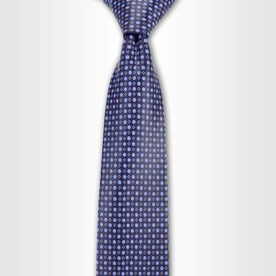 . PlusPng.com Navy Blue Pindot Tie, Tie PlusPng.com  - Blue Ties PNG